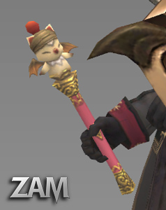 Nomad Moogle Rod Items Final Fantasy Xi Zam