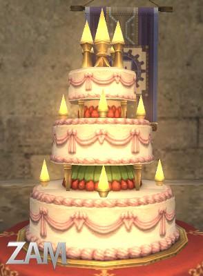 Bon Anniversaire Dahlia F-Memorial-Cake