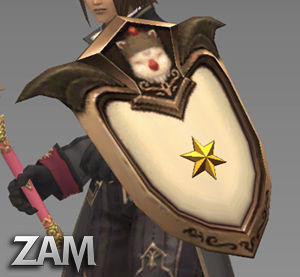 Nomad Moogle Shield Items Final Fantasy Xi Zam