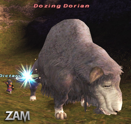 Dozing Dorian Picture