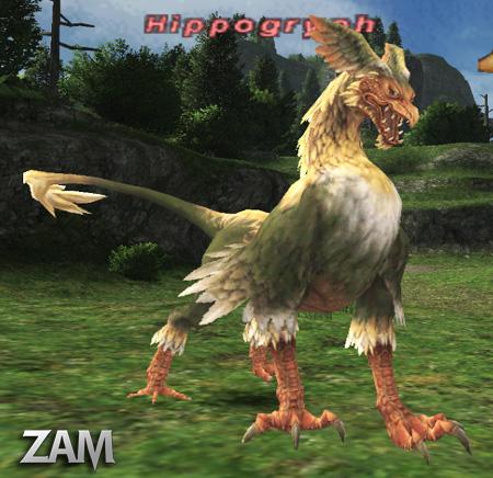 Hippogryph Bestiary Final Fantasy Xi Zam