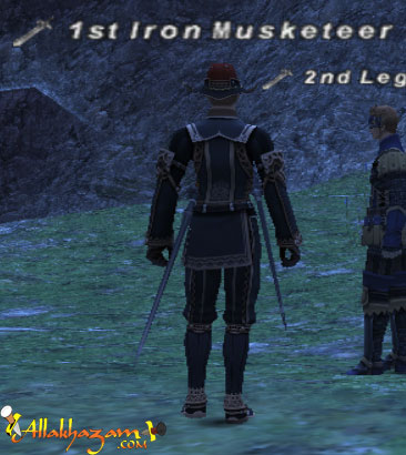 1st Iron Musketeer Picture