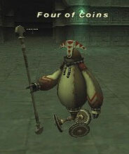 Four of Coins Picture