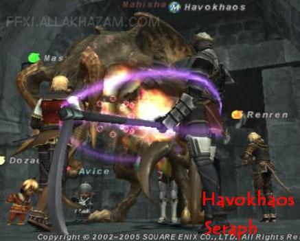 Mahisha :: Bestiary :: Final Fantasy XI :: ZAM