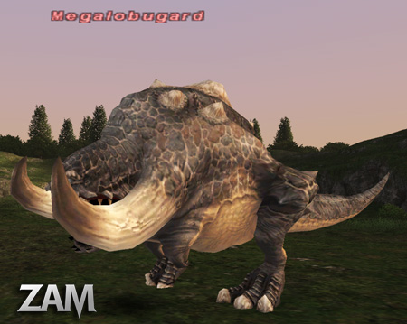 Megalobugard :: Bestiary :: Final Fantasy XI :: ZAM