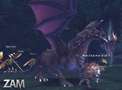 Nidhogg :: Bestiary :: Final Fantasy XI :: ZAM