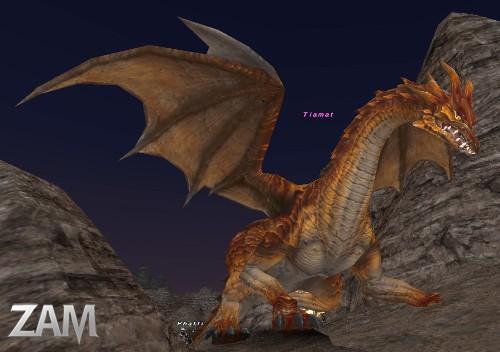 Tiamat Bestiary Final Fantasy Xi Zam