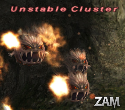 Unstable Cluster Picture