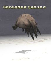 Shredded Samson Picture