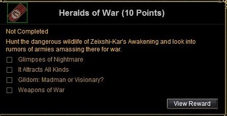 heralds of war