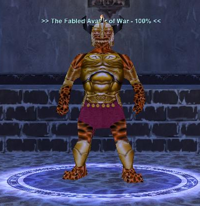 The Fabled Avatar of War :: Bestiary :: EverQuest :: ZAM
