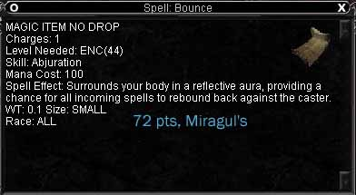 Spell: Bounce :: Items :: EverQuest :: ZAM
