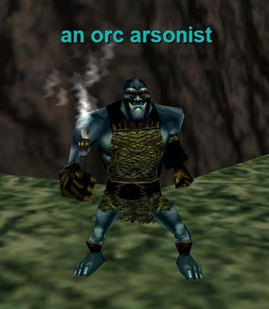an orc arsonist :: Bestiary :: EverQuest :: ZAM