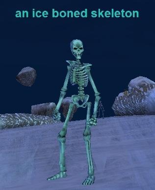 an ice boned skeleton :: bestiary :: everquest :: zam, Skeleton