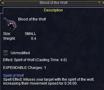 Blood spirit eq