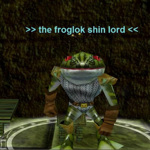 the froglok shin lord :: Bestiary :: EverQuest :: ZAM