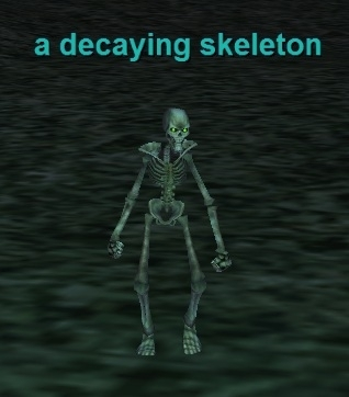 a decaying skeleton :: bestiary :: everquest :: zam, Skeleton