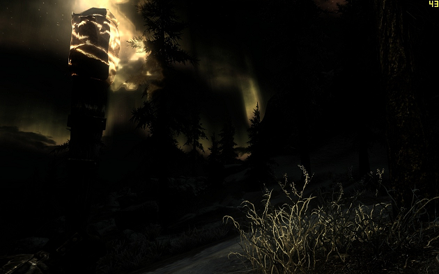 Skyrim: Dark Nights and Darker Dungeons mod