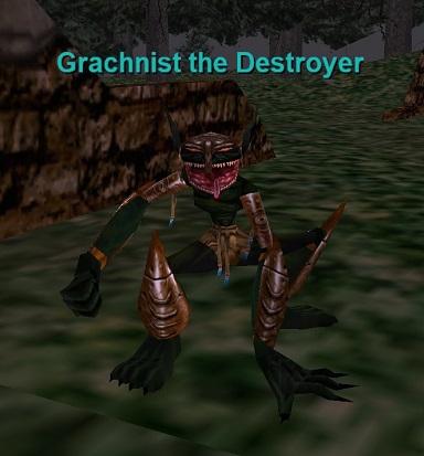Grachnist the Destroyer :: Bestiary :: EverQuest :: ZAM