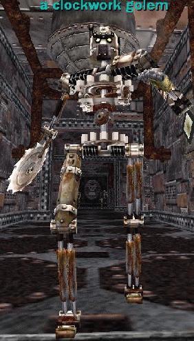 A Clockwork Golem Bestiary Everquest Zam