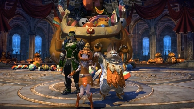 Join the fun in TERA's Masquerade Mayhem!