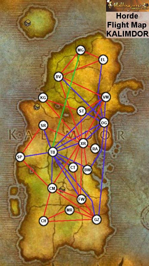 category:flight points (wow) :: Wiki :: World of Warcraft :: ZAM