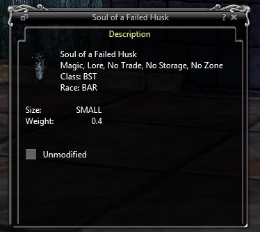 Soul of a Failed Husk