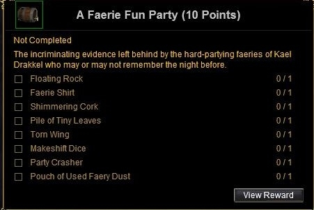 a faerie fun party