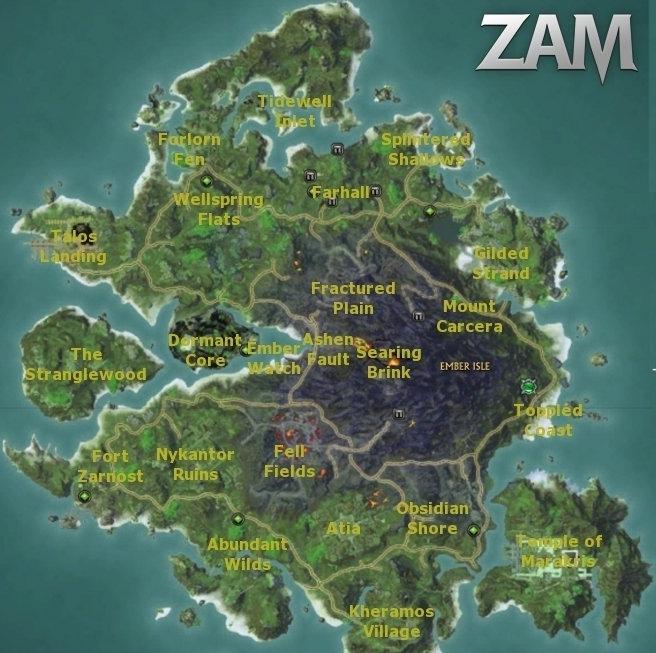 Ember isle map wiki rift zam map of ember isle gumiabroncs Images