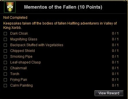 mementos of the fallen