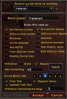 Using A Personal Guild Bank For Storage? - Reader Question