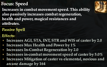 Examine of one Swashbuckler focus effect