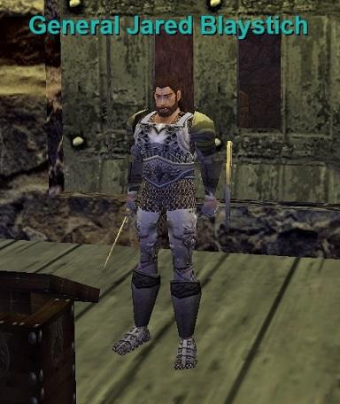 General Jared Blaystich :: Bestiary :: EverQuest :: ZAM