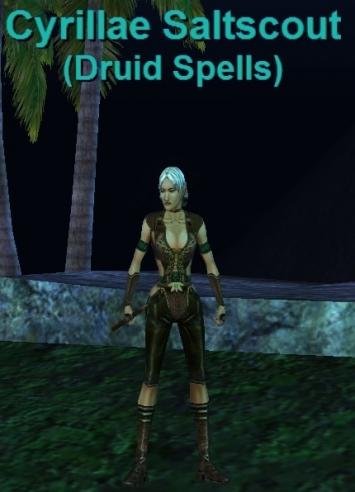 Cyrillae Saltscout :: Bestiary :: EverQuest :: ZAM