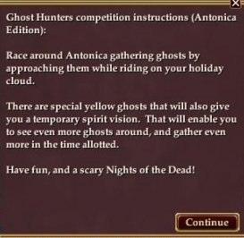 Ghost Hunter Instructions