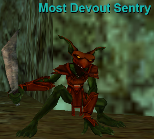 Most Devout Sentry :: Bestiary :: EverQuest :: ZAM