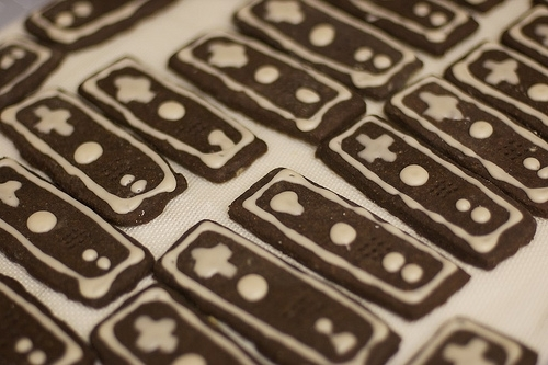 Gingerbread Wiimotes