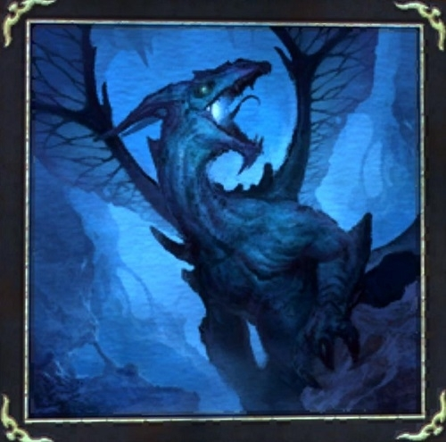 Avatar Dragon: Painting: Ice Dragon Avatar :: Items :: EverQuest :: ZAM