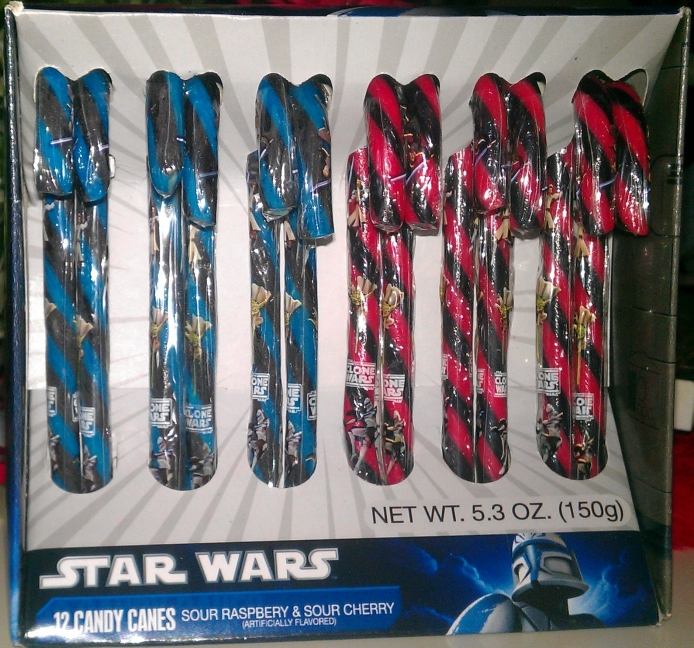 Star Wars Candy Canes, Christmas 2011