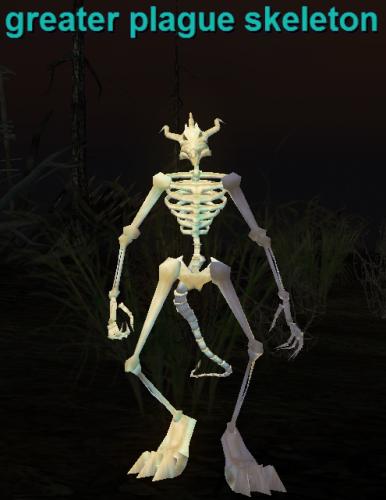 greater plague skeleton :: bestiary :: everquest :: zam, Skeleton