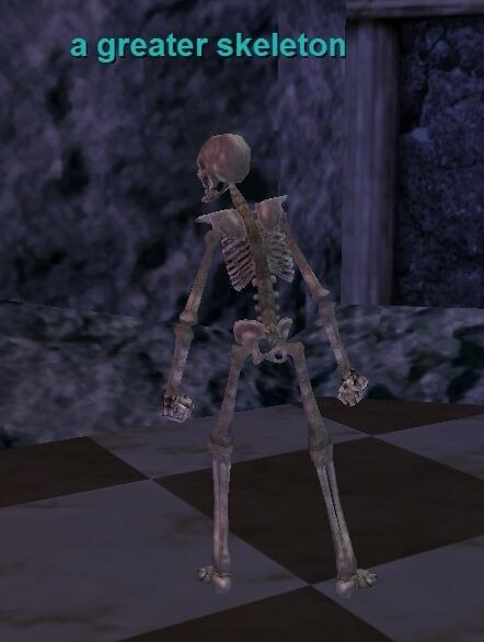 a greater skeleton :: everquest :: zam, Skeleton