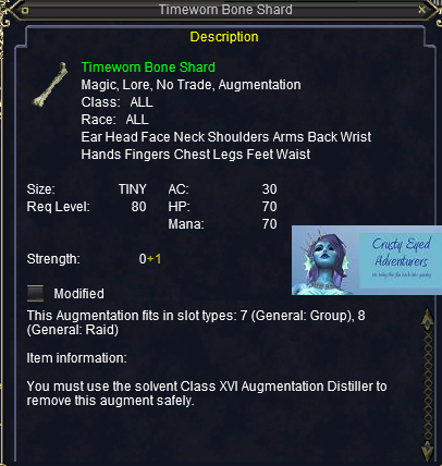 Timeworn Bone Shard :: Items :: EverQuest :: ZAM
