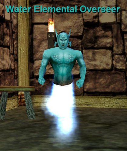 Water Elemental Overseer :: Bestiary :: EverQuest :: ZAM