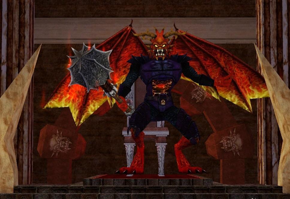 Fennin Ro, The Tyrant of Fire :: Bestiary :: EverQuest :: ZAM