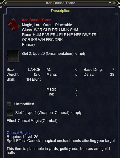 eq magelo profile
