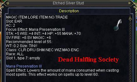 Etched Silver Stud :: Items :: EverQuest :: ZAM