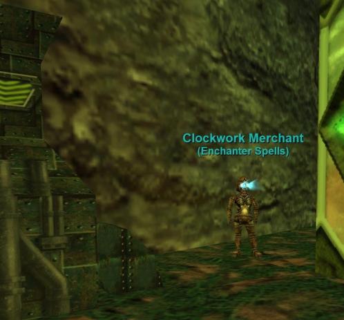 Clockwork Merchant (1120, -1035) :: Bestiary :: EverQuest :: ZAM