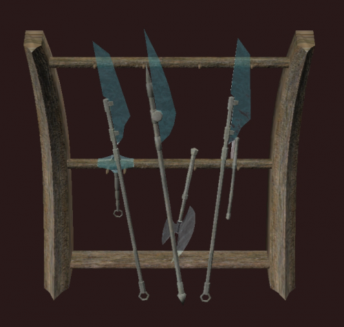 Icy Weapon Rack World Of Warcraft Zam