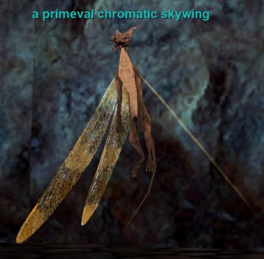 a primeval chromatic skywing bestiary everquest zam