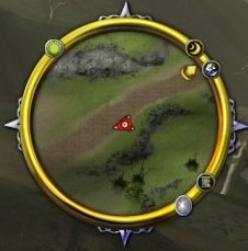 Minimap with Quest Arrow